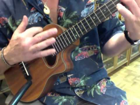 Swing 56 Gypsy Jazz Koa Tenor Ukulele @ Ukulele Mania, Ikebukuro