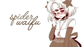 Slightly Tsun Spider Waifu Roleplay [ASMR] [Binaural] [Voice Acting]