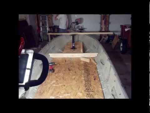 14 Ft Mirrocraft Modification V Hull Youtube