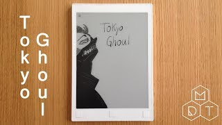 Tokyo Ghoul Speed Drawing on reMarkable 4K UHD