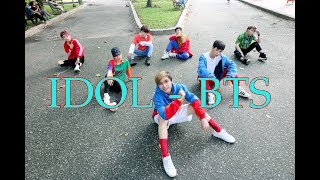 "[KPOP IN PUBLIC] BTS - ""IDOL"" (Dance Cover) by Heaven Dance Team from Vietnam"
