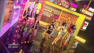 【TVPP】SISTAR –  Shake It, 씨스타 - Shake It @ Show! Music Core Live