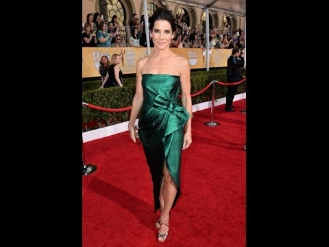 Sandra Bullock Stuns at Screen Actors Guild Awards Red Carpet
