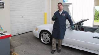 How to Eliminate Brake Pad Dust Part 2: 1975 to 1995 Benz Series Part 33 w/ Kent Bergsma