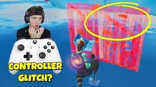 i helped this controller player get a win with this controller glitch... (can't build)