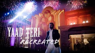 YAAD TERI (ReCreated) | Rahul Vaidya RKV | Disha Parmar | WhatsAppStatus |