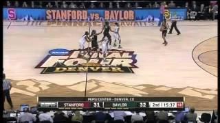 2012 NCAA Women's Basketball Championship. Semifinal. Stanford vs. Baylor