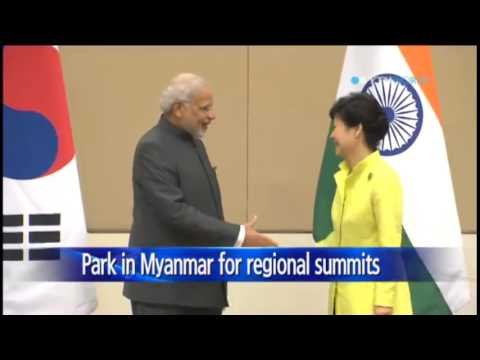 President Park Geun-Hye to participate in ASEAN+3 summit today in Myanmar / YTN