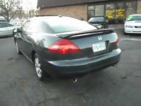 honda accord  dr coupe   leather  miles youtube