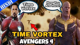 Time Vortex in Avengers 4 after Avengers Infinity War explained in hindi   Time Travel in Avengers 4
