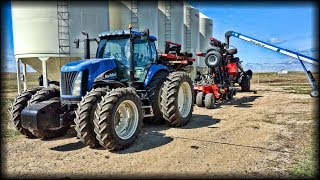 An Unexpected Expense - New Holland TG285, Case IH SDX 30 & ADX 2230