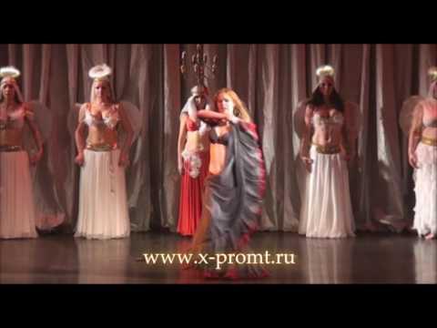 """Танец живота шоу. Show belly dance. """"The three Musketeers"""" perfomance."""