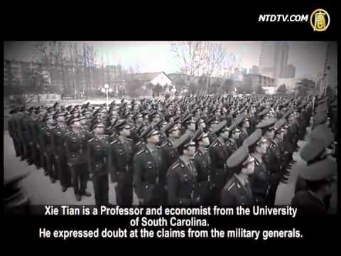 CCP's Military Expenditure: RMB 670.2 Billion