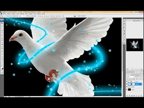 Trazo de Luz Photoshop