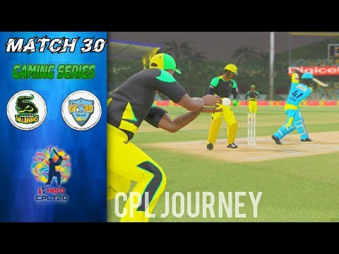 CPL GAMING SERIES 2018 JOURNEY w/ JAMAICA TALLAWAHS - MATCH 30 v ST LUCIA STARS