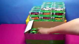 A whole box of small cars