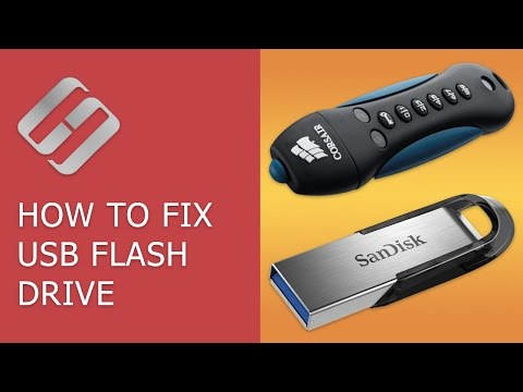 How to Fix a Flash Drive for a Computer. TV or Car Audio in 2018 🛠️👨‍💻🤔