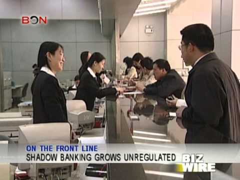 Shadow Banking grows unregulated - Biz Wire - December 06 - BONTV