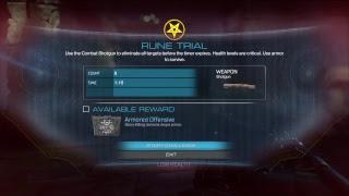Doom Rune Trials Armored Offensive