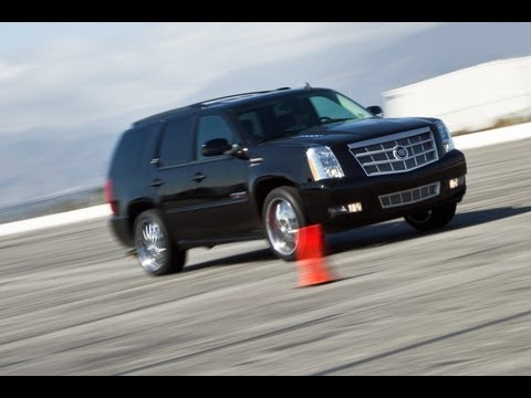 2012 Cadillac Escalade SLP 525 Supercharged Track Test - Inside Line