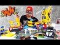 Алекс Гараж: Экскурсия. Человек Паук, Оптимус Прайм и Валли Секретная комната! Джокер грабит банк!