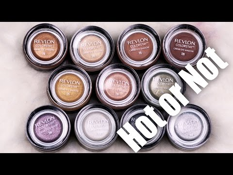 New REVLON Creme Shadows | Hot or Not