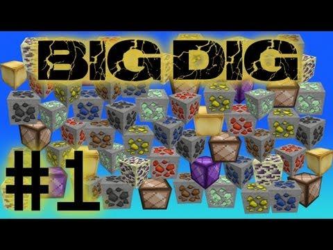 Minecraft Big Dig - Minetopia #1