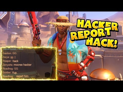 THEY THOUGHT MCREE WAS HACKING!! (He's Not) - Overwatch Funny Moments & Best Plays 56