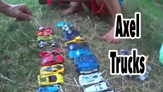 RC Tantrum Monster Truck and Cars