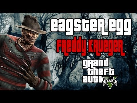 GTA V - Easter Egg - Freddy Krueger (secreto)