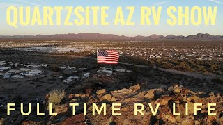 Quartzsite Arizona RV show! Hiking, Travel and Adventure