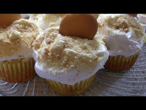 Banana Pudding Cupcakes Recipe Divas Can Cook