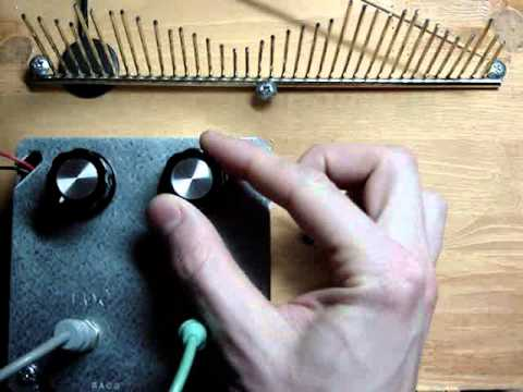 GetLoFi Delay Unit and Piezo Tine Demo