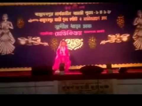Maiya Yashoda Ye Tera Kanhaiya From Hum Saath Saath Hain(dance In Qudisha) .flv video