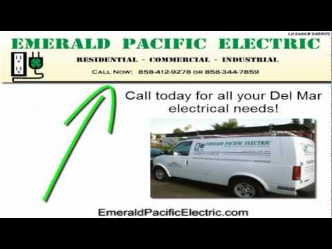 Electrician Del Mar |  Call 858-412-9278 Affordable Licensed Electricians