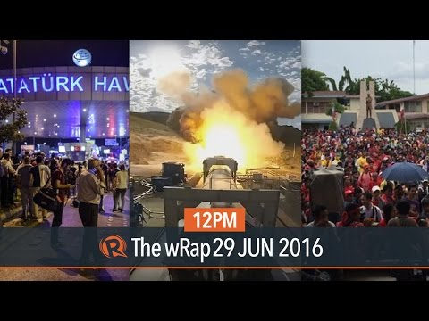 Istanbul attack, PH peace talks, NASA | 12PM wRap