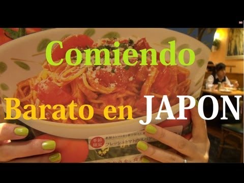 Restaurantes Baratos en JAPON [By JAPANISTIC]