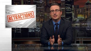 Retractions: Last Week Tonight with John Oliver (Web Exclusive)