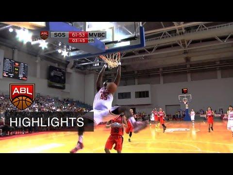 Singapore Slingers vs Mono Vampire - Game Highlights | ASEAN Basketball League 2015 - 2016