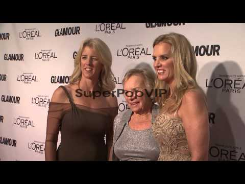 Rory Kennedy, Ethel Kennedy and Kerry Kennedy at Glamour ...