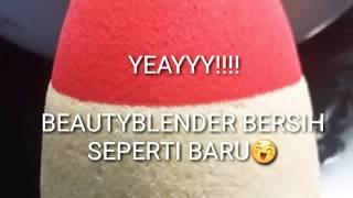 Cara Membersihkan Beauty Blender/Spons Bedak