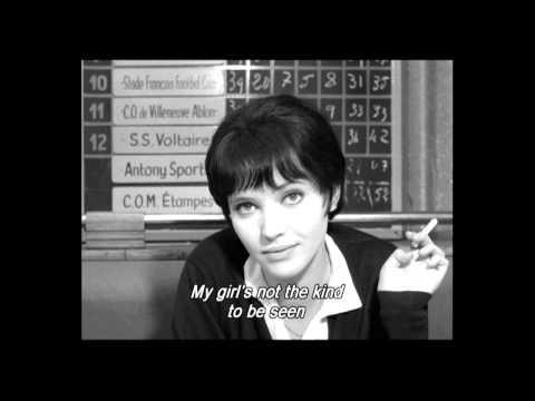 Vivre Sa Vie (1962) Cafe Scene