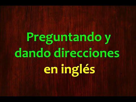 Inglés Americano - Preguntando y Dando Direcciones (Lección 166)