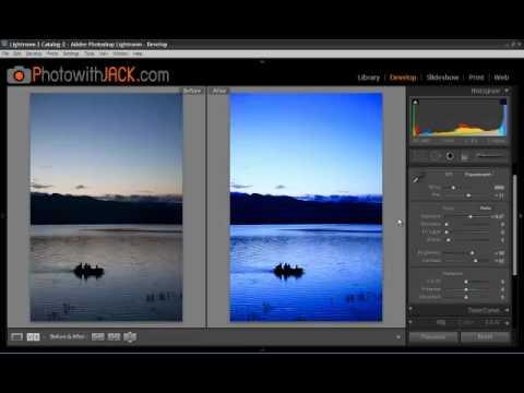 การปรับค่า White Balance โดยใช้ Adobe Photoshop Lightroom 3