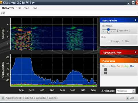 WISPY 2.4 Ghz Spectrum Analyzer -Part one