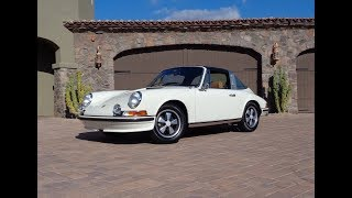 1971 Porsche 911S 911 S Targa in Ivory White & Engine Sound on My Car Story with Lou Costabile