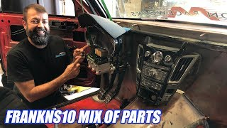 GIANT LEAPS on our V8 TT AWD S10! (Interior, Cage, Shifter, Driveshaft, and More)