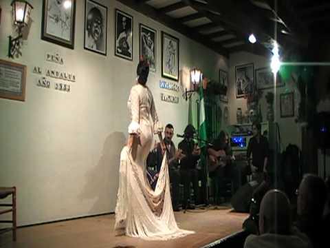 Alegrias Nina Perez - Peña al Andalus 25 Aniversario 2010 Bélgica -