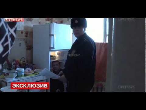Спрятался от полиции в холодильнике