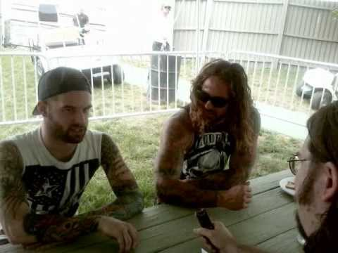 As I Lay Dying Interview - The House of Zazz